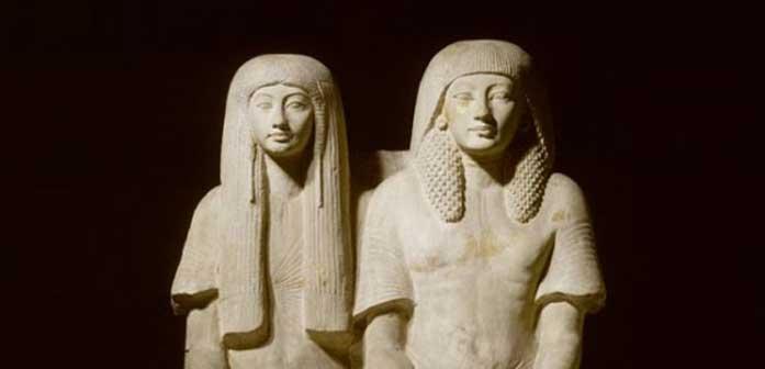 Egitto - Le statue Maya e Meryt