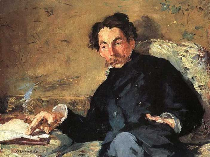 Manet, Stéphane Mallarmé (1876)