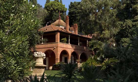 Villa della Pergola, Archivio Giardini di Villa della Pergola