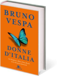 Bruno Vespa, Donne d'Italia, copertina del libro