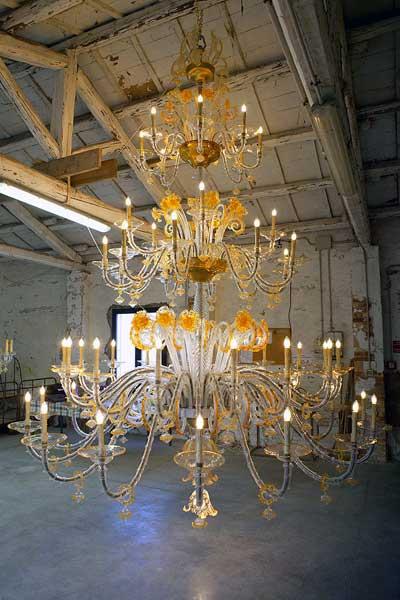lampadario di Sant'Agostino