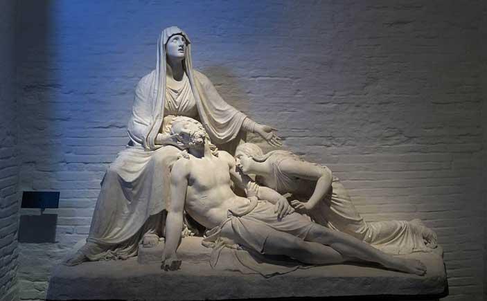 Canova, La Pietà, gesso