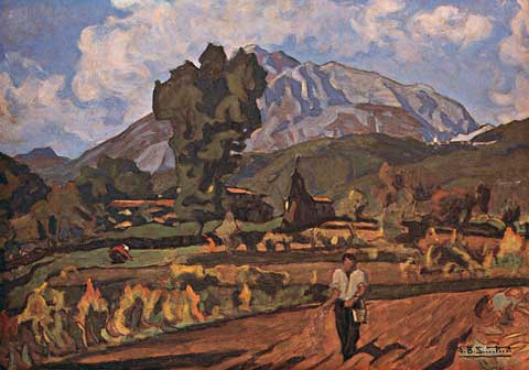 Giovan Battista Santini, La Vita, 1925-30