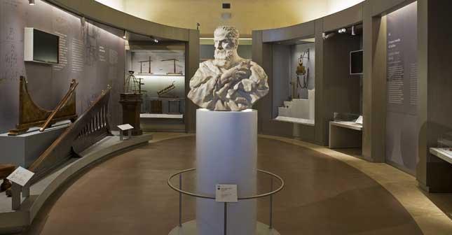 Museo Galileo: la sala dedicata allo scienziato. (© Museo Galileo, Firenze)