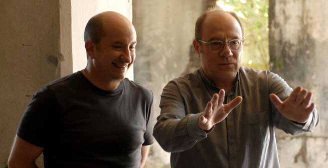 Antonio Albanese e Carlo Verdone