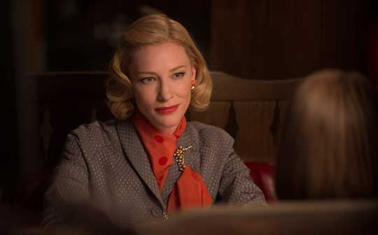 Carol, una scena del film