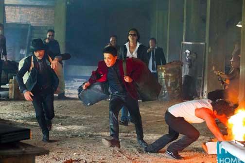 Lupin III, una scena del film