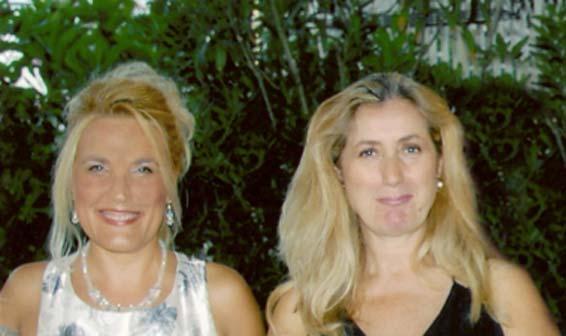 Felicia Bongiovanni e Elisabetta Righini - Convegno Dieci anni di Impresa e Cultura