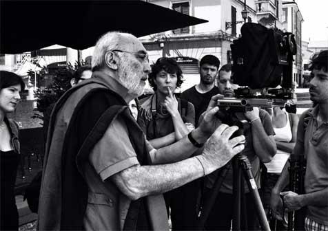 Gabriele Basilico a Modena nel 2012 - foto Stiffoni