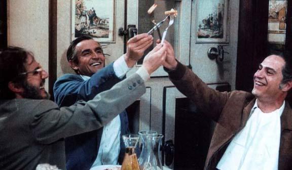Vittorio Gassman e Nino Manfredi - Cinema italiano