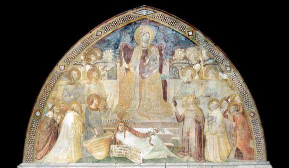 Montesiepi Prospetto - Ambrogio Lorenzetti