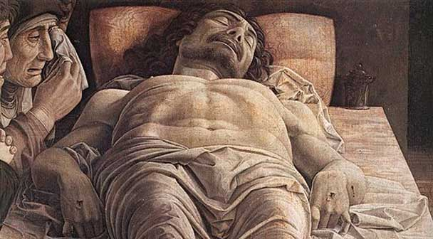 Andrea Mantegna Cristo morto, icona expoincittà