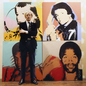 Andy Warhol, La Factory New York 1977
