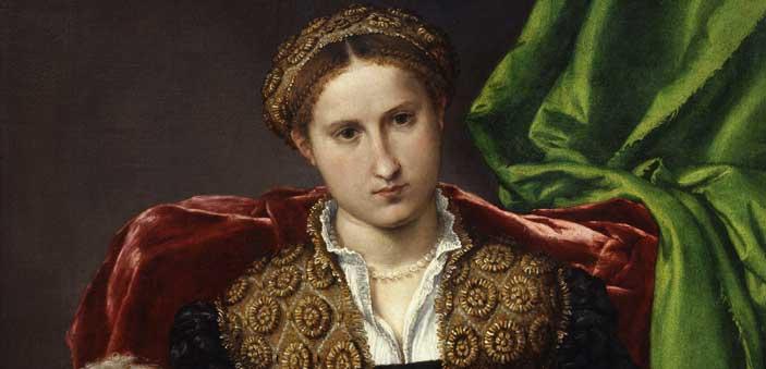 Lorenzo Lotto, Ritratto di Laura da Pola, Milano, Pinacoteca di Brera