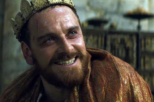 William Shakespeare, Macbeth, Fassbender