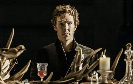 Benedict Cumberbatch nel ruolo di Amleto, Shakespeare