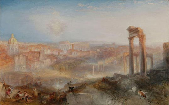 Campidoglio - William Turner, Modern Rome. Campo Vaccino