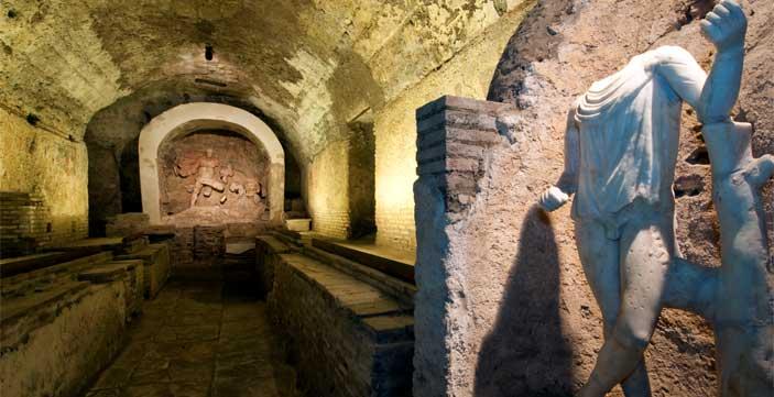Le vie del Giubileo - Roma, Mitreo di Santa Prisca
