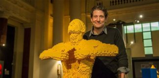 The Art Of The Brick, mostra di Nathan Sawaya