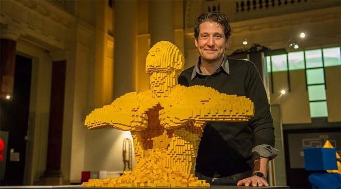 The Art Of The Brick, mostra di Nathan Sawaya