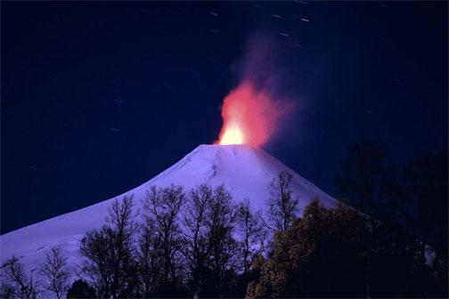 Vulcani - Cile, Vulcano Villarica. Foto di Marco Stoppato