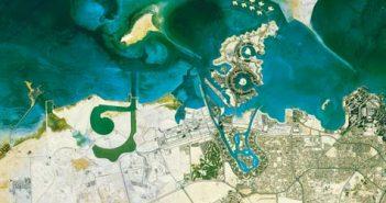 Doha Qatar ©Astrium Services