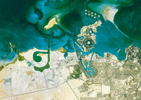 Doha Qatar ©Astrium Services - La Terra vista dallo spazio
