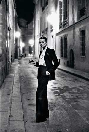 Rue Aubriot, French Vogue, from the series White Women, Paris 1975 © Helmut Newton Estate