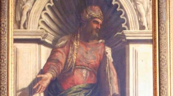 Paolo Veronese, Ritratto di Aristotele, particolare