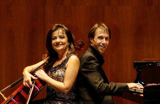 Silvia Chiesa e Maurizio Baglini eseguono tutti i capolavori per violoncello e pianoforte di Sergej Rachmaninov