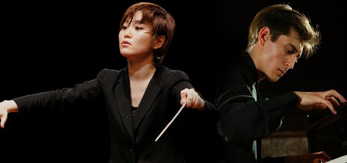 Han-Na Chang e Yevgeny Sudbin