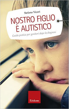 Stefano Vicari, Nostro figlio è autistico, copertina del libro