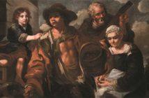 Eberhard Keilhau detto Monsù Bernardo (e bottega), (Helsingør, 1624 - Roma, 1687), Venditori ambulanti, 1660 - 1680 ca., olio su tela, Firenze, Gallerie degli Uffizi, Galleria Palatina e Appartamenti Reali, depositi
