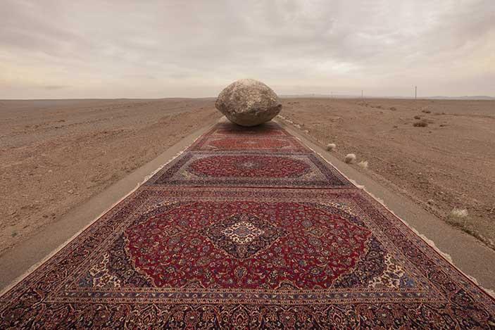Jalal Sepehr, Red Zone, 2015, 70x100 cm, c-print, Courtesy l'artista e Officine dell'Immagine, Milano