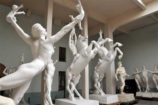 Roma, Museo Hendrik C. Andersen, Atelier, particolare