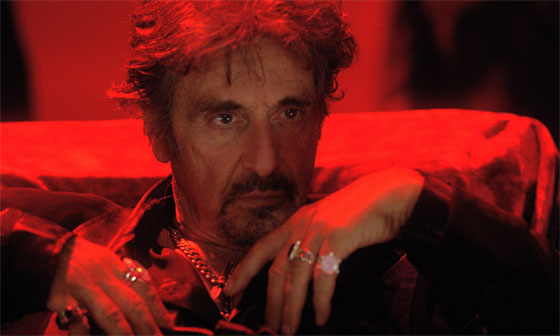 Al Pacino nel film Wilde Salomè