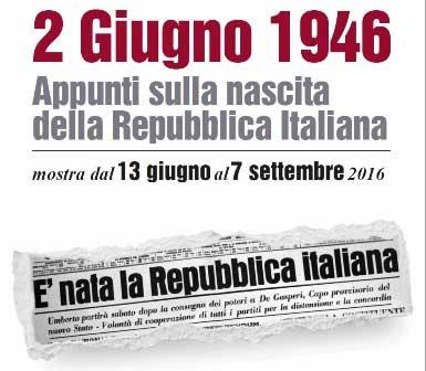 2 giugno 1946 – Appunti sulla nascita della Repubblica Italiana