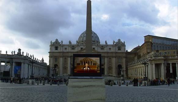 Ciak d'Arte, dal film Domenico Fontana, Paolo Portoghesi