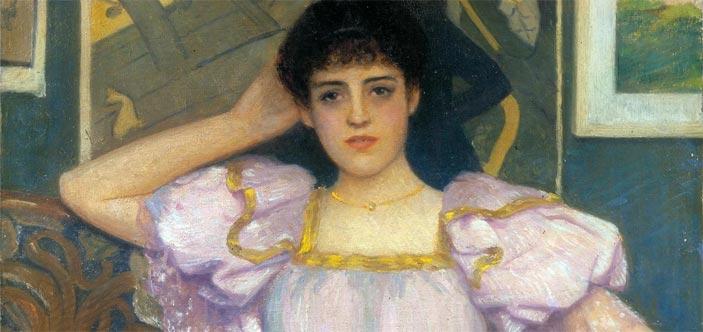 Federico Zandomenegni, Omaggio a Toulouse Lautrec, 1917 - Mostra Il tempo di Signorini e De Nittis