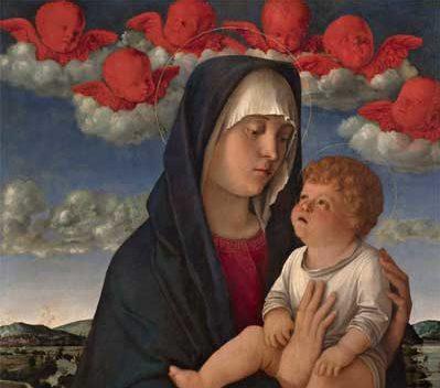 Giovanni Bellini, Madonna dei cherubini rossi, mostra in Giappone