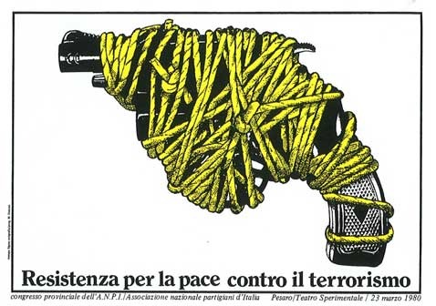 Massimo Dolcini, Resistenza per la pace contro il terrorismo