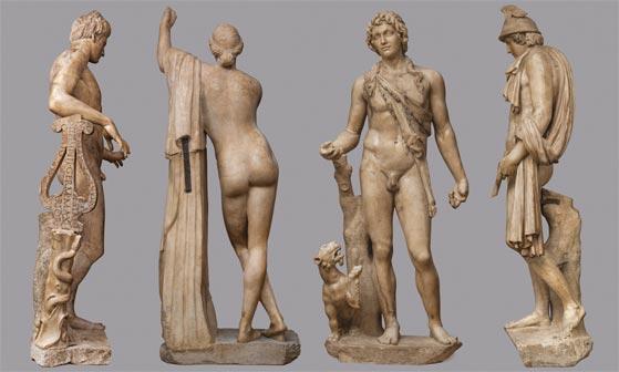 Statue del Salone dei Cinquecento - Palazzo Vecchio, Firenze