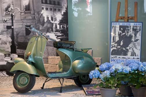 VESPA 125 1951 - Vacanze Romane