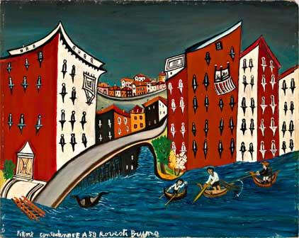 Bruno Rovesti, Venezia, 1959, olio su faesite, cm 59 x 64,5 Bruno Rovesti, Venezia, 1959, olio su faesite, cm 59 x 64,5