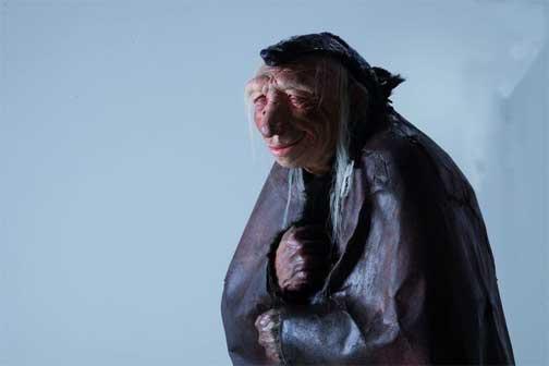 Uomo di Neandertal, Modello di Lorenzo Possenti © Photo Alberto Novelli. Mostra Homo sapiens