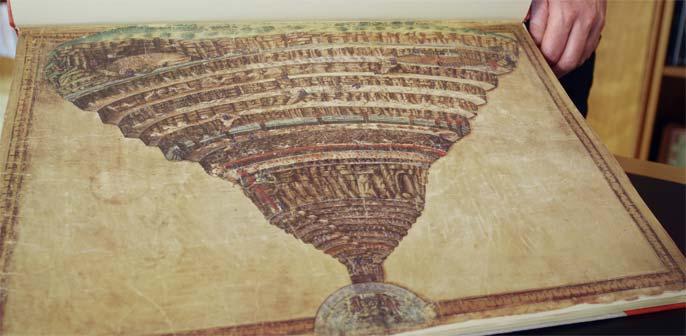 Sandro Botticelli, Mappa dell'Inferno