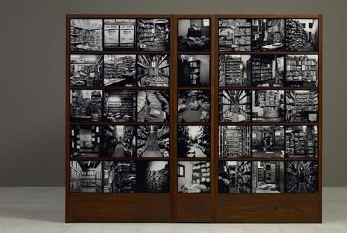 File Museum, 2012, Archival pigment prints, 30 x 30 cm each, Courtesy of the artist and Frith Street Gallery, London © Dayanita Singh