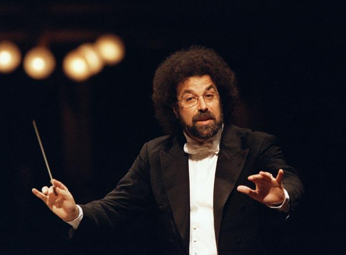 Giuseppe Sinopoli, 1995 Staatkapelle Dresden, ph. Lelli e Masotti