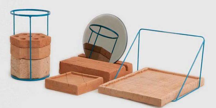 Ilaria Innocenti, Adobe, set da scrivania, autoproduzione, 2013 - Mostra Under 35. Italian Design