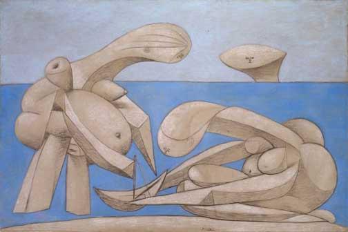 Pablo Picasso Sulla spiaggia, 1937. Collezione Peggy Guggenheim © Succession Picasso, by SIAE 2016